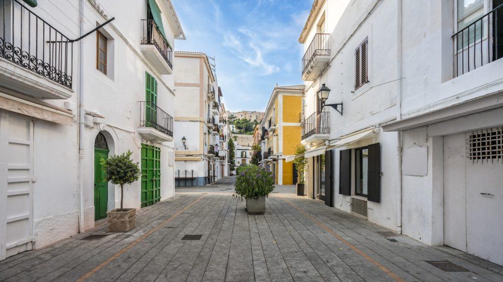 Ibiza Town Street