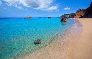 Aquas Blancas beach