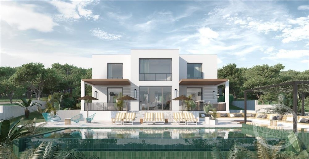 Newly built sea views villa in walking distance to the beach