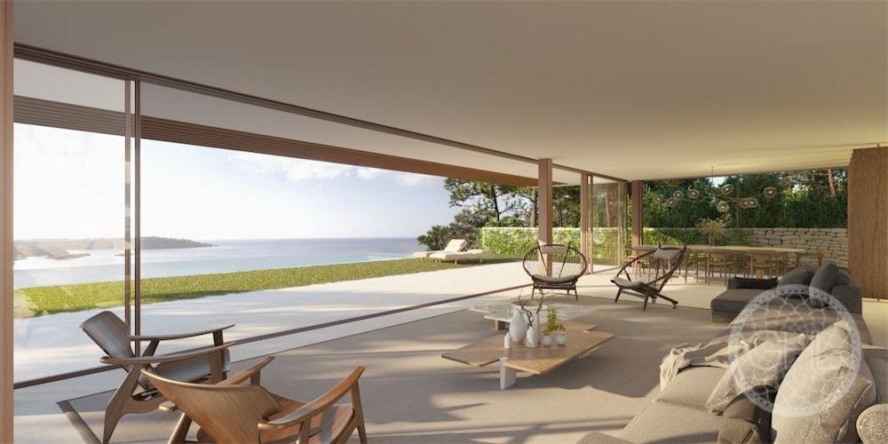 Erstaunliche erste Linie Meerblick moderne Villa zu bauen ...