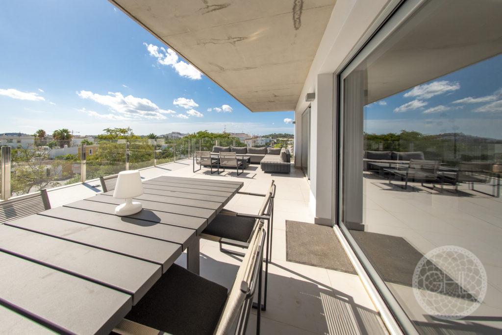 Wunderschönes Penthouse mit Blick auf Dalt Vila