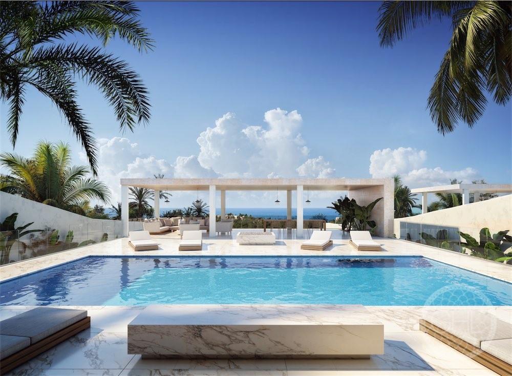 Nuevo proyecto para dos villas modernas de lujo con vistas al mar en primera línea