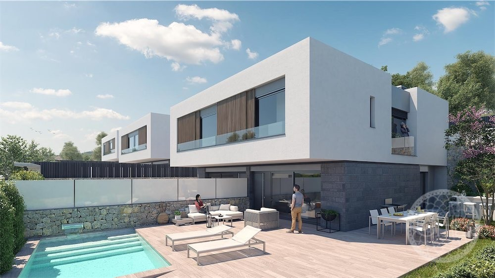 Beautiful new modern luxury villas in Talamanca