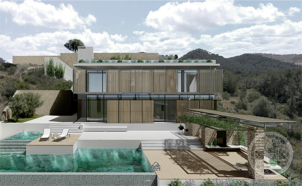 Stunning sea views villa in Can Furnet coming soon