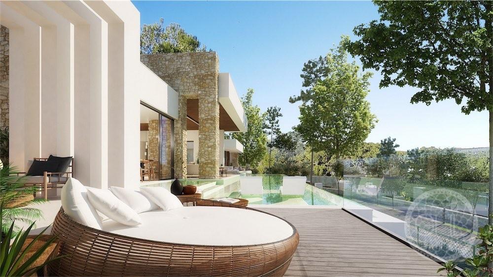 Breathtaking modern villa project with sensational views
