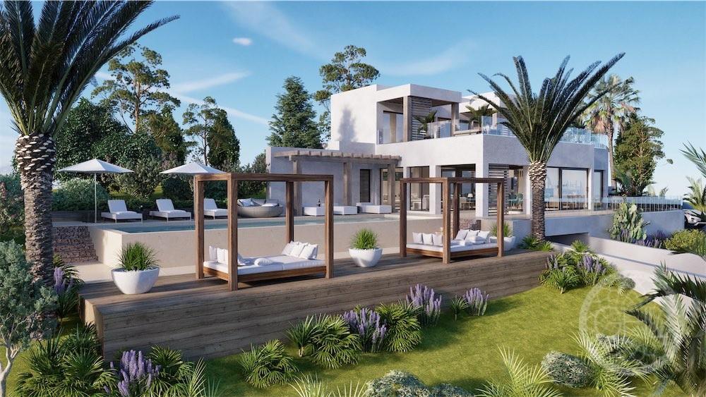 Impresionante proyecto de villa con vistas al mar en Can Furnet
