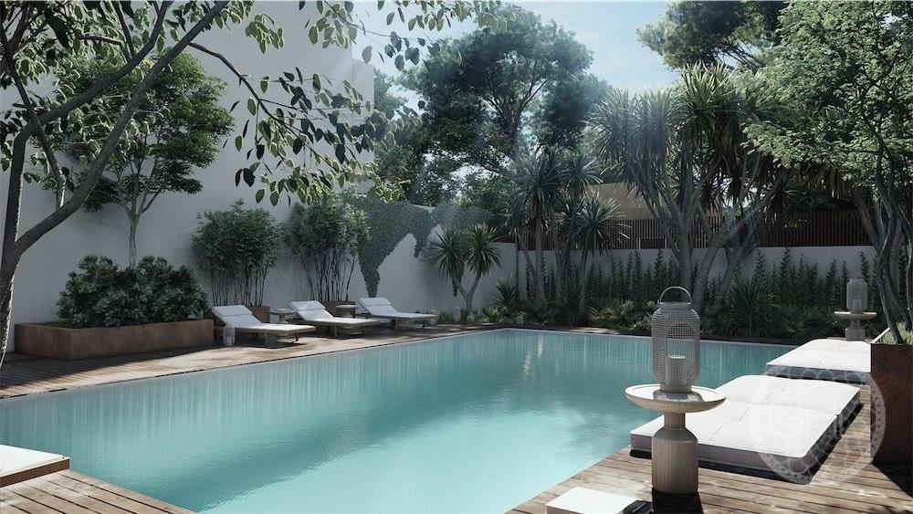 Projets de maisons de ville de luxe à proximité de la plage