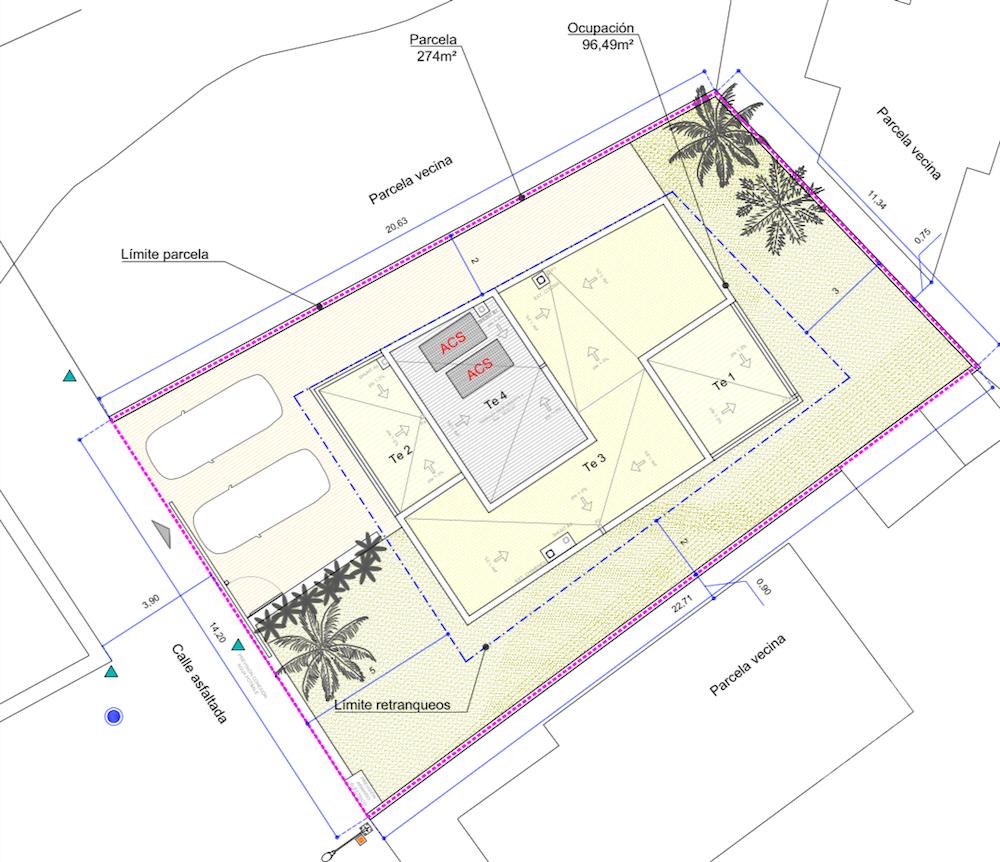Terreno urbano con licencia en ubicación céntrica